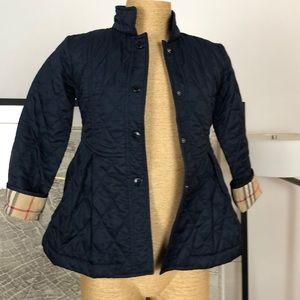 New Burberry jacket girl size 7-8